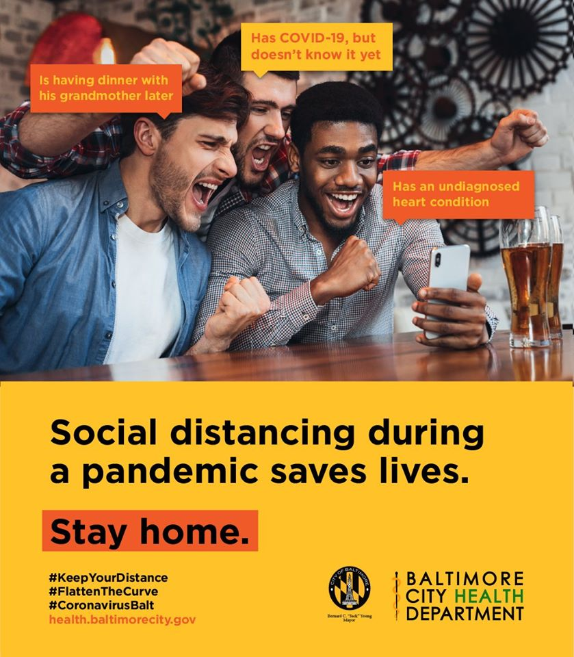 Social distancing during a pandemic saves lives.